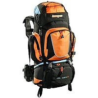 Outdoor- und Trekkingrucksack in Orange
