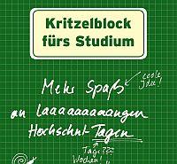Kritzelblock für Studenten